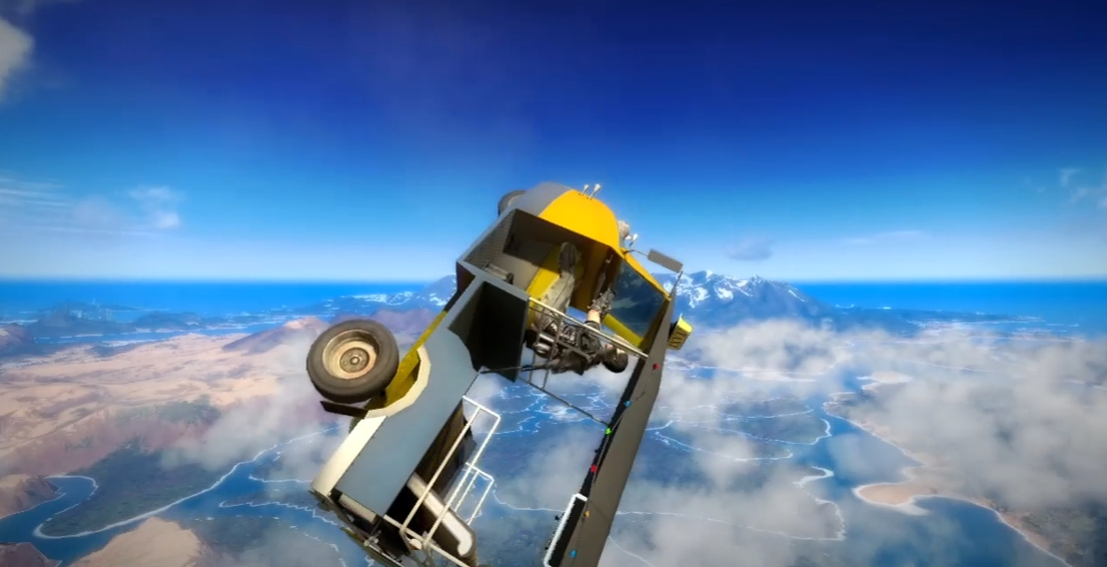 Just Cause2 - Tuk Tuk Guided Missile Trailer