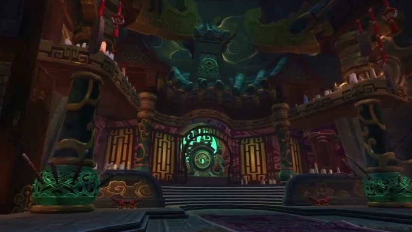 World of Warcraft: Mists of Pandaria - Temple of the Jade Serpent Trailer
