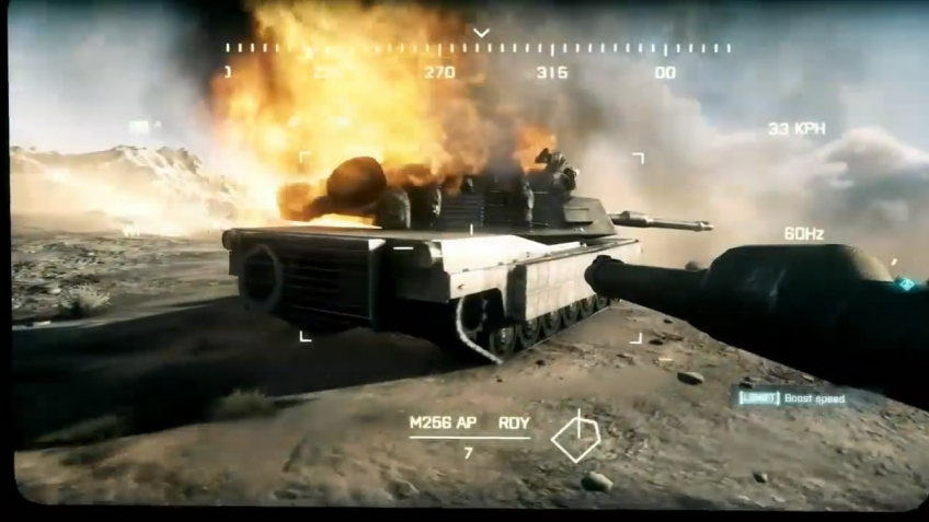 Battlefield 3 - E3 2011 Thunder Run Gameplay Trailer