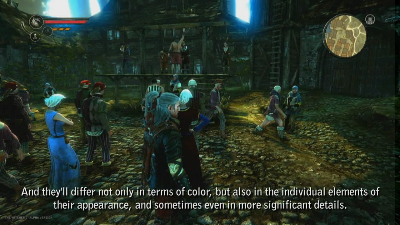 The Witcher 2: Assassins of Kings - The Engine Video Dev Diary