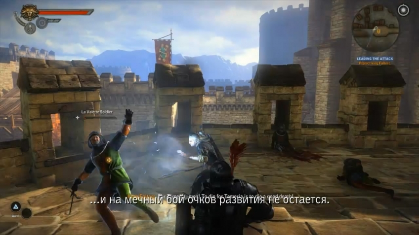 The Witcher 2: Assassins of Kings - Character Development and Items Video Dev Diary (русская версия)
