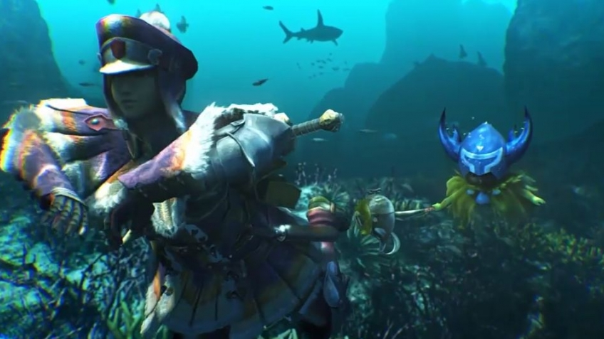 Monster Hunter 3 Ultimate - Wii U Comic Con 2012 Trailer