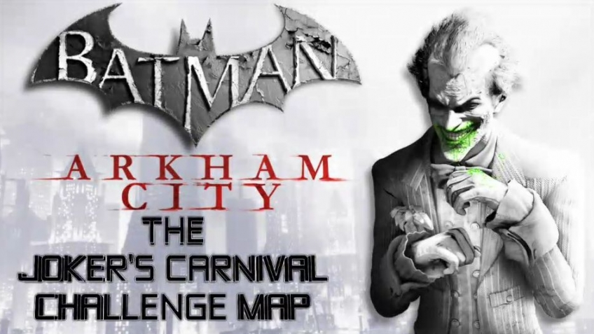 Batman: Arkham City - Challenge Map Pack Trailer