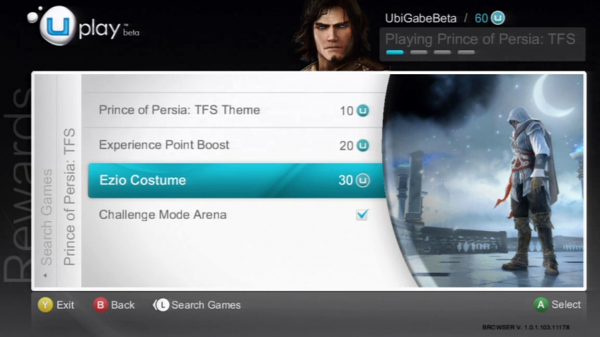 Prince of Persia: The Forgotten Sands - UPlay Rewards Trailer