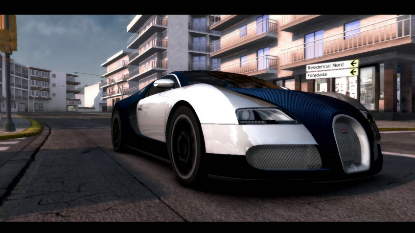 Test Drive Unlimited 2 - Bugatti Trailer