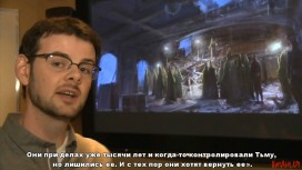 The Darkness2 - Studio Tour: Playing with the Darkness Trailer (с русскими субтитрами)