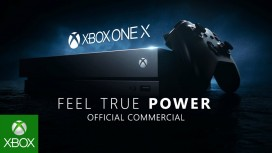 Xbox One X. Трейлер Feel True Power