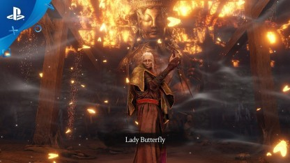 Sekiro: Shadows Die Twice. Трейлер Lady Butterfly