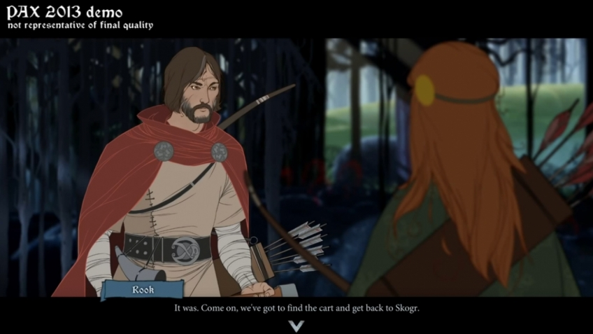 The Banner Saga - Let's Play PAX Demo Part 1