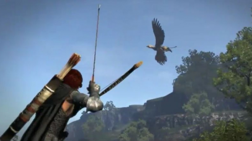 Dragon's Dogma - Griffin Gameplay Trailer