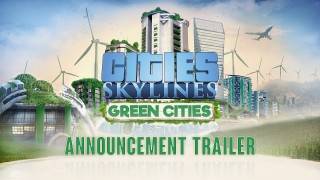 Cities: Skylines. Трейлер DLC Green Cities с gamescom 2017