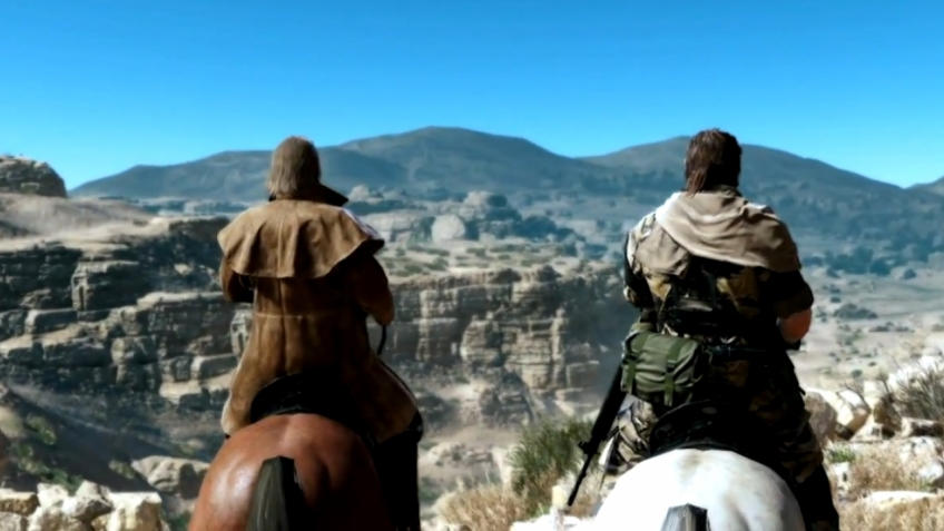 Metal Gear Solid 5: The Phantom Pain - E3 2013 Trailer