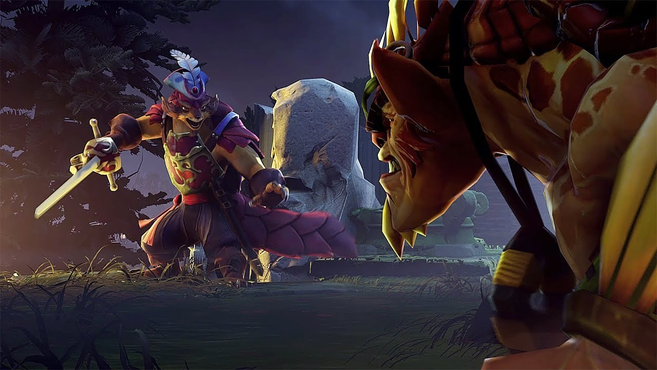 Dota2. Трейлер The Dueling Fates