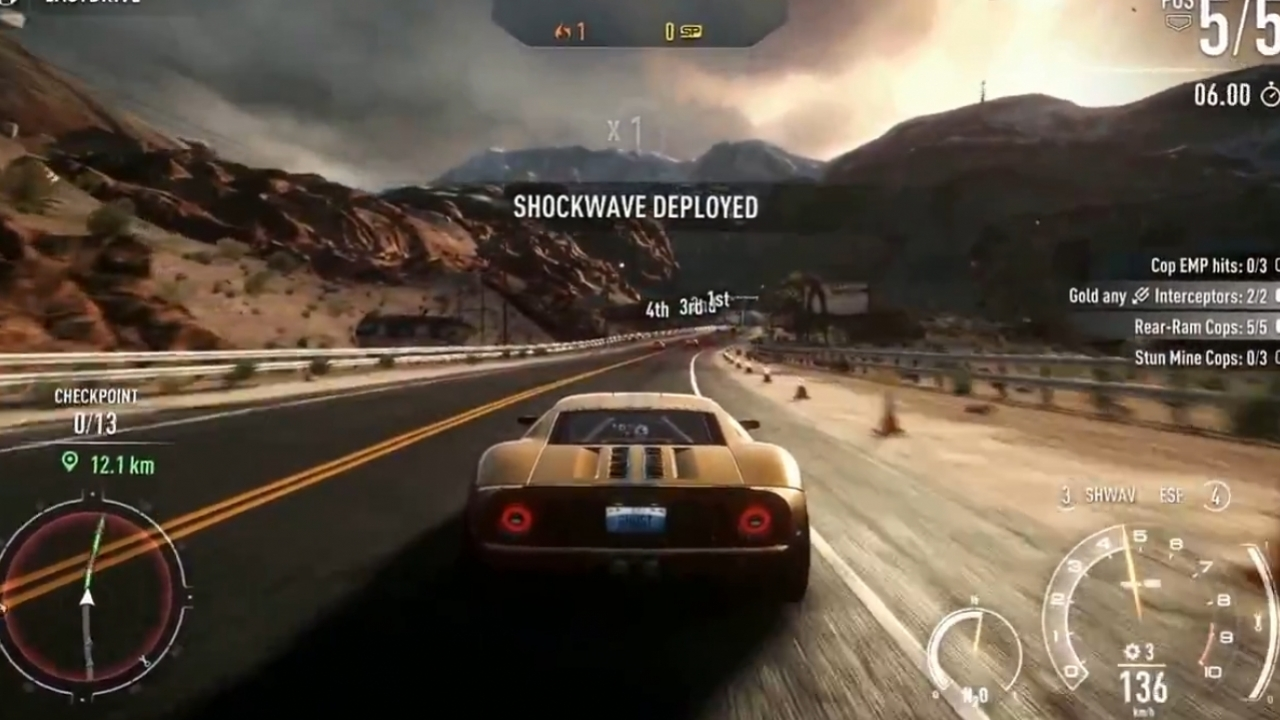 Need for Speed: Rivals - Xbox One Геймплей