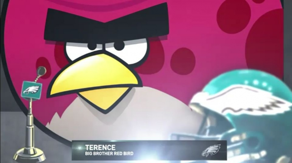 Angry Birds - Join Philadelphia Eagles Video (на русском языке)