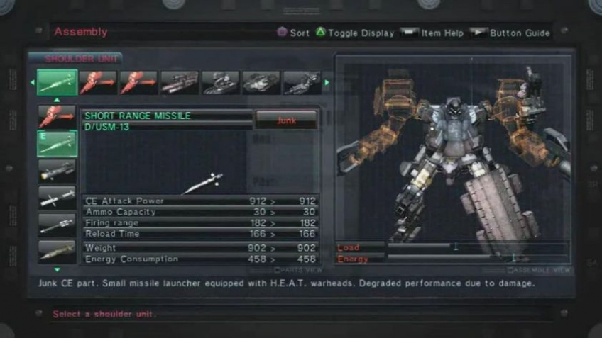 Armored Core 5 - Customization and Bosses Walkthrough Trailer