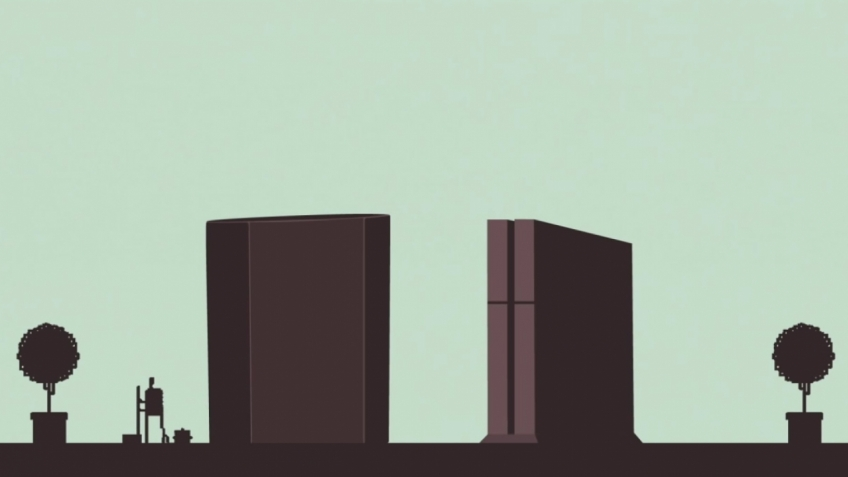 Sound Shapes - PS4 Debut Trailer