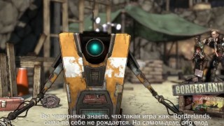 Borderlands - Claptrap Trailer (русская версия)