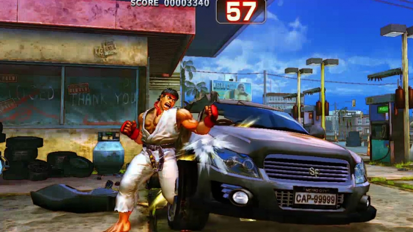 Super Street Fighter 4 - Additional Modes Trailer