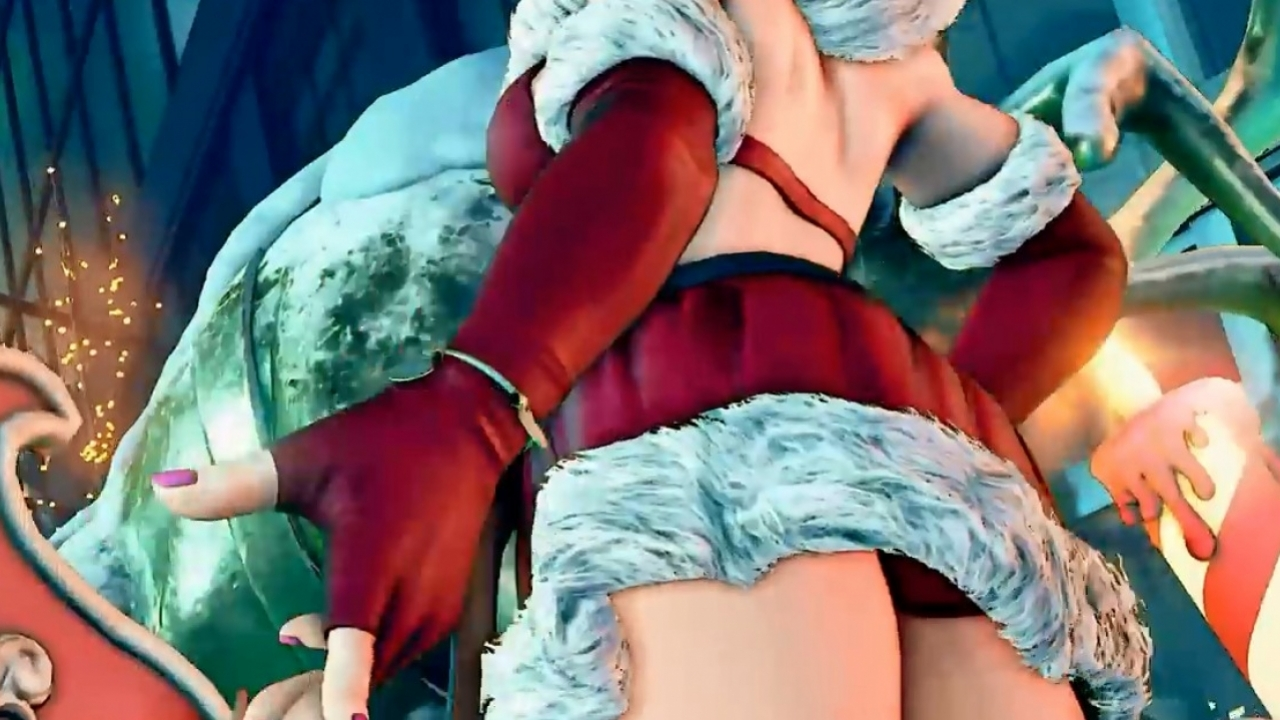 Street Fighter V - Holiday Content 2016