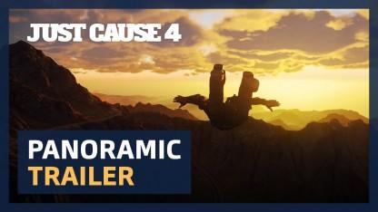 Just Cause4. Panoramic Trailer