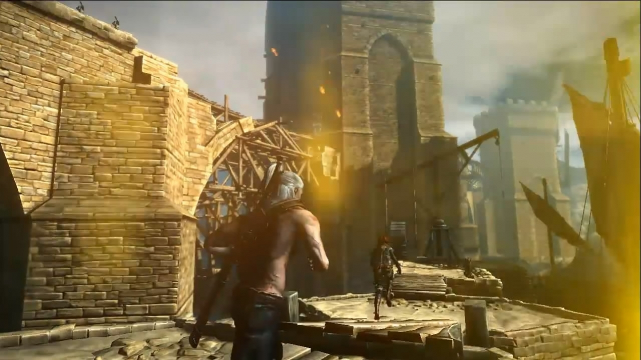 The Witcher 2: Assassins of Kings - Locations Video Dev Diary4 (русская версия)