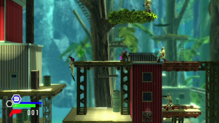 Bionic Commando Rearmed 2 - E3 2010 Trailer