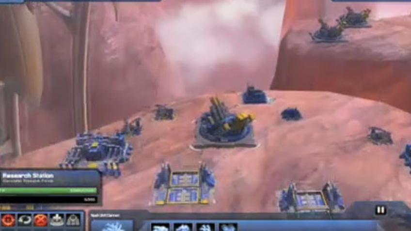Supreme Commander2 - Walkthrough Gameplay Trailer
