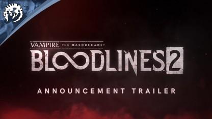Vampire: The Masquerade — Bloodlines2. Трейлер-анонс