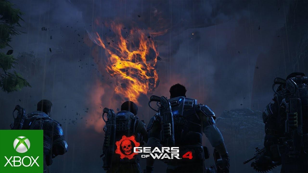 Gears of War4. Трейлер для версии Xbox One X