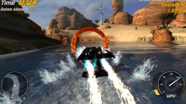 Hydro Thunder Hurricane - Lake Powell Ring Master with Razorback Trailer