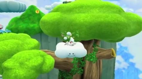 Super Mario Galaxy2 - Cloud Suit Trailer