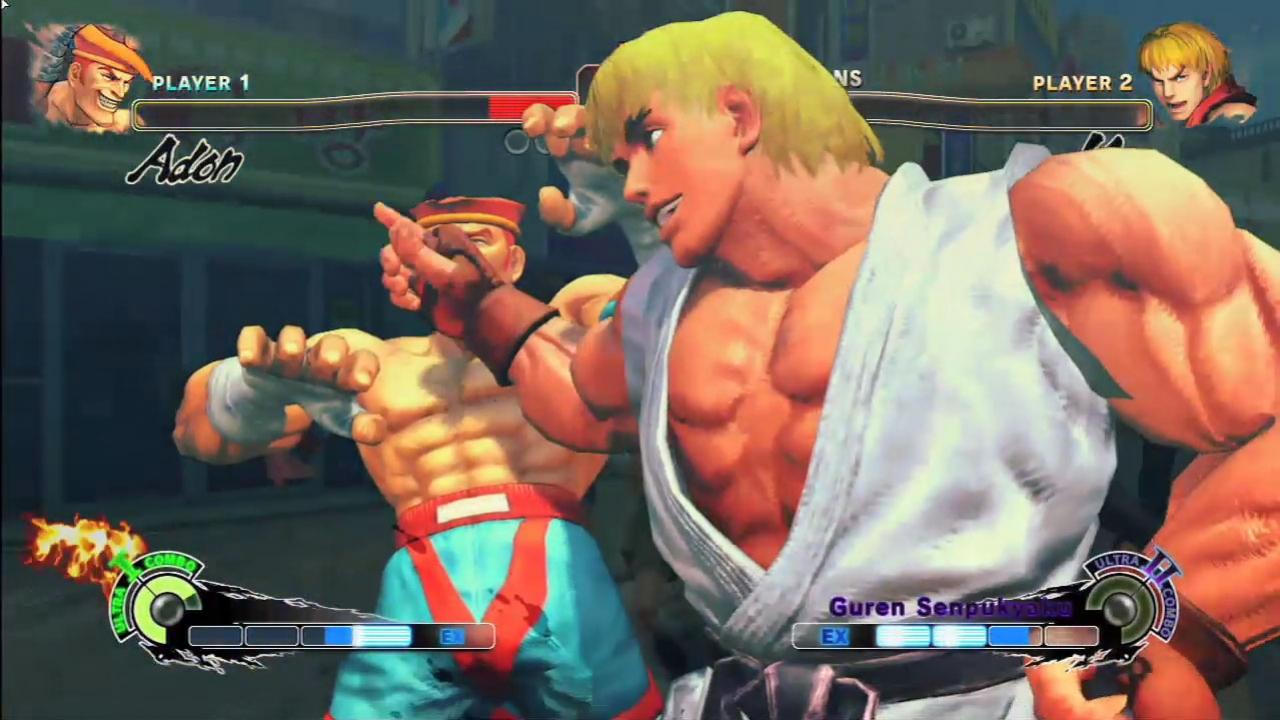Super Street Fighter4 - Adon vs Ken Trailer