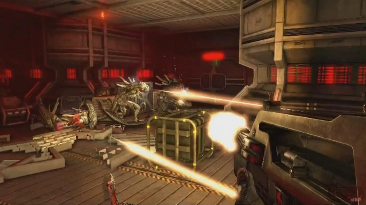 Aliens: Colonial Marines - Геймплейные кадры (с русскими субтитрами)
