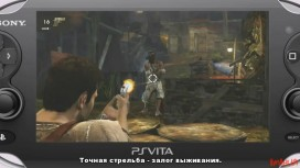 Uncharted: Golden Abyss - Геймплейные кадры (с русскими субтитрами)