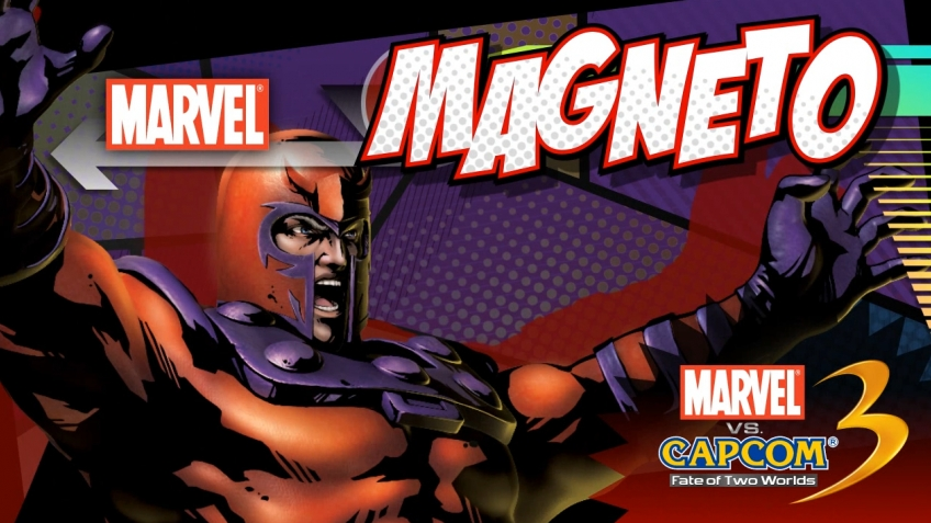 Marvel vs. Capcom 3: Fate of Two Worlds - Magneto Trailer