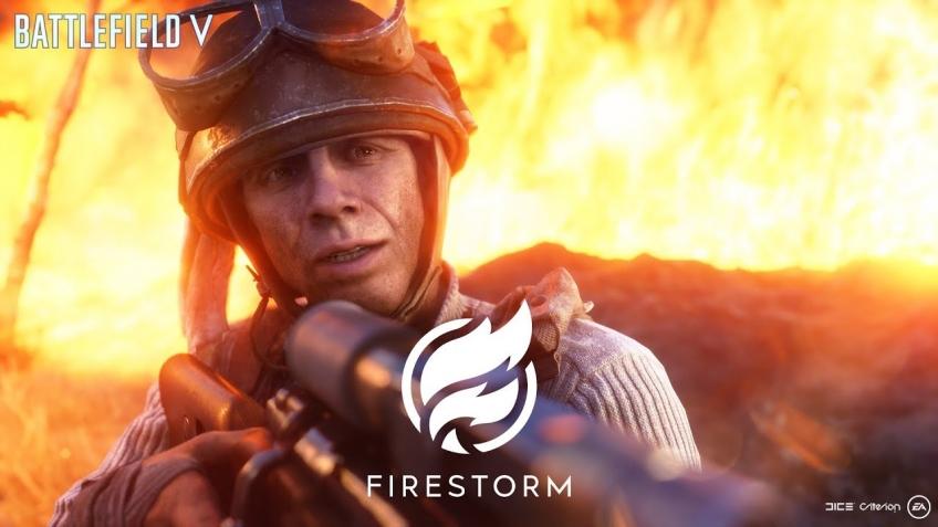 Battlefield V. Трейлер игрового процесса «Огненного шторма»