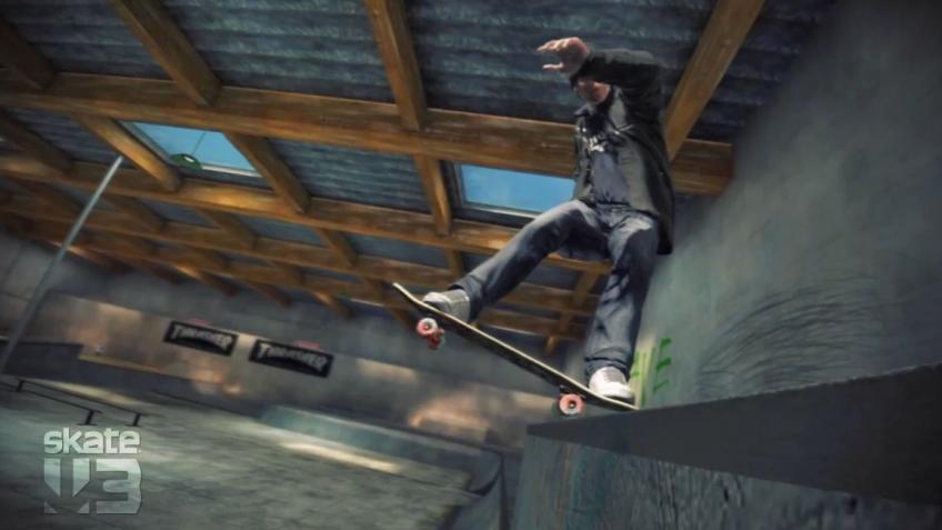 Skate3 - Black Box Skate Park Trailer