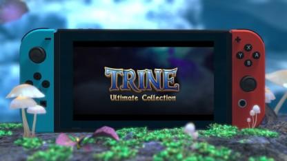Trine. Трейлер всей серии на Nintendo Switch