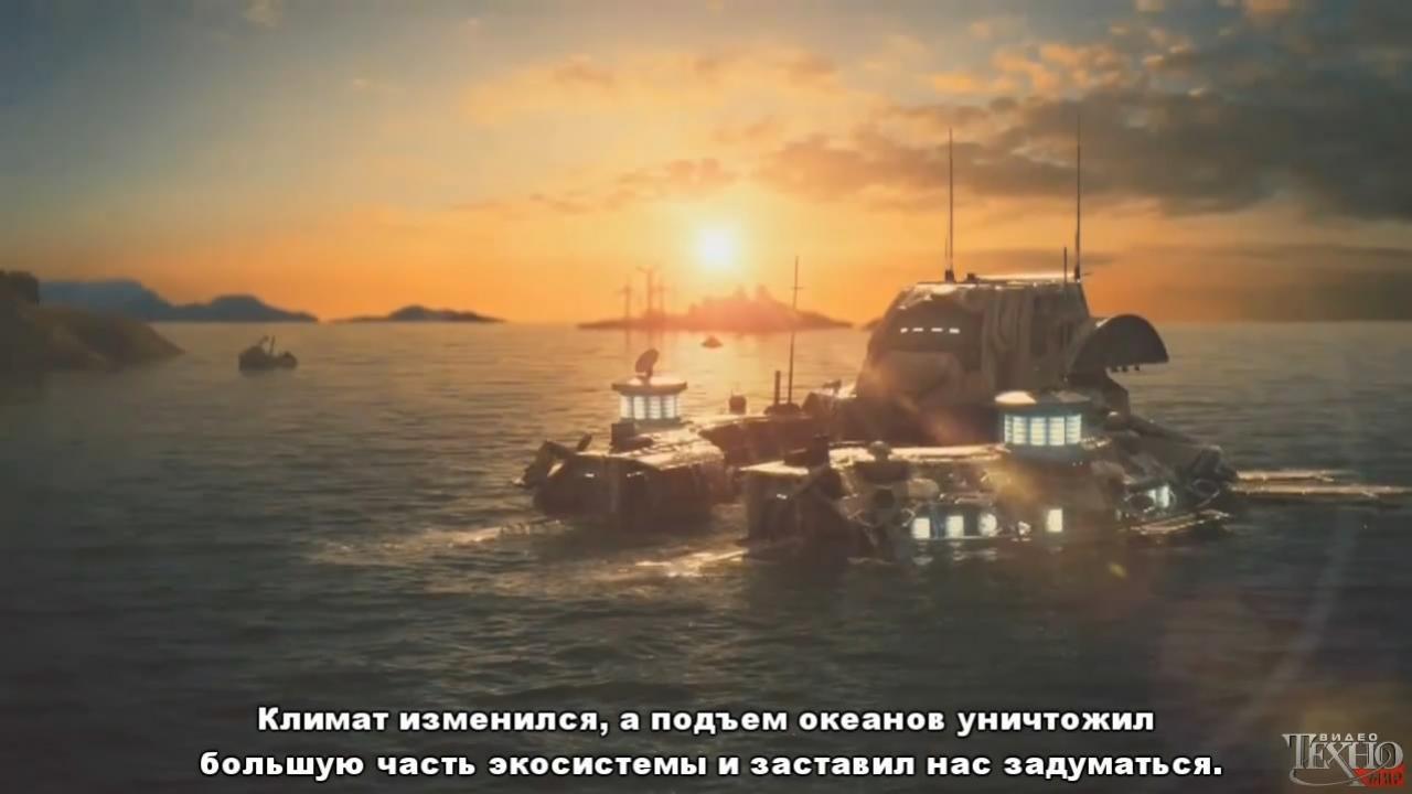 Anno 2070 - Релизный трейлер (с русскими субтитрами)