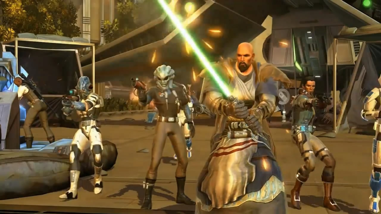 Star Wars: The Old Republic - Jedi Consular Trailer (с русскими субтитрами)