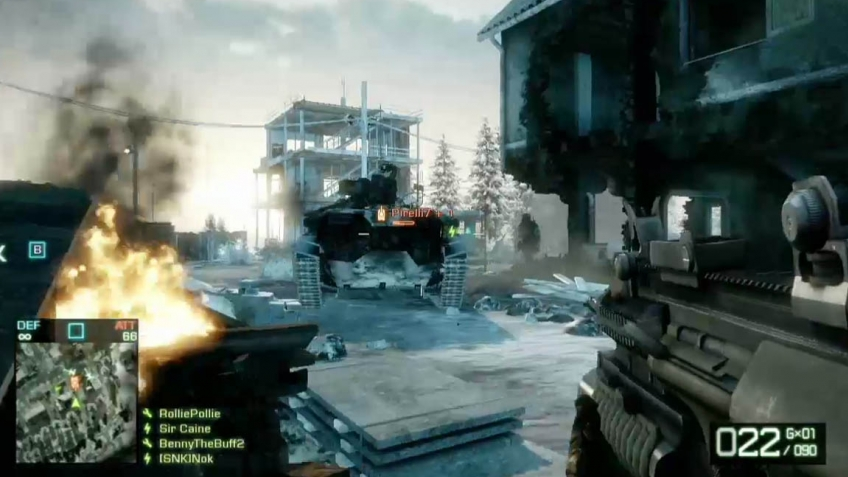 Battlefield: Bad Company 2 - Demo Gameplay Trailer