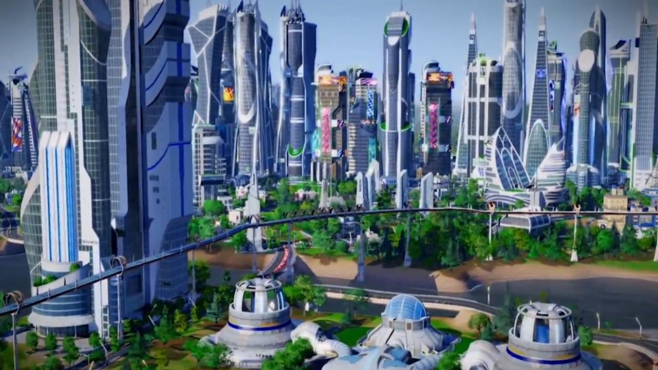 SimCity: Cities of Tomorrow - Трейлер