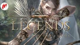 Первый взгляд на The Elder Scrolls: Legends. Легендарные свитки - Стрим «Игромании»
