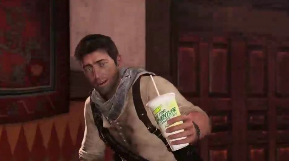 Uncharted 3: Drake's Deception - Taste for Adventure TV Spot