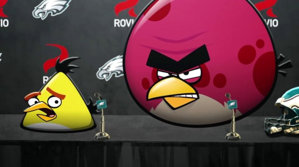 Angry Birds - Join Philadelphia Eagles Video