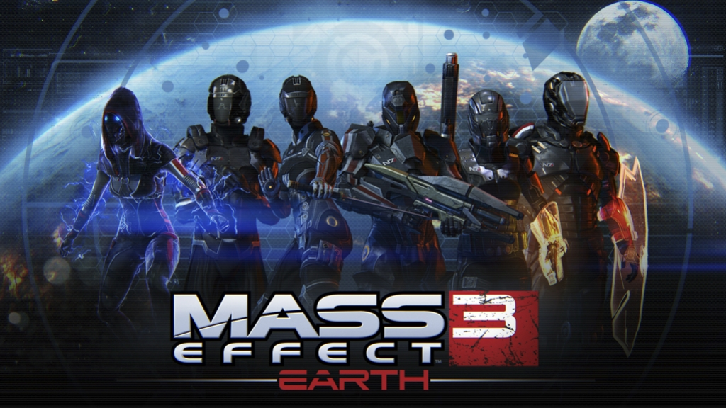 Mass Effect 3 DLC - Земля