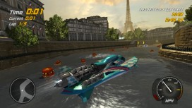 Hydro Thunder Hurricane - Paris Sewers Gauntlet w Banshee Trailer
