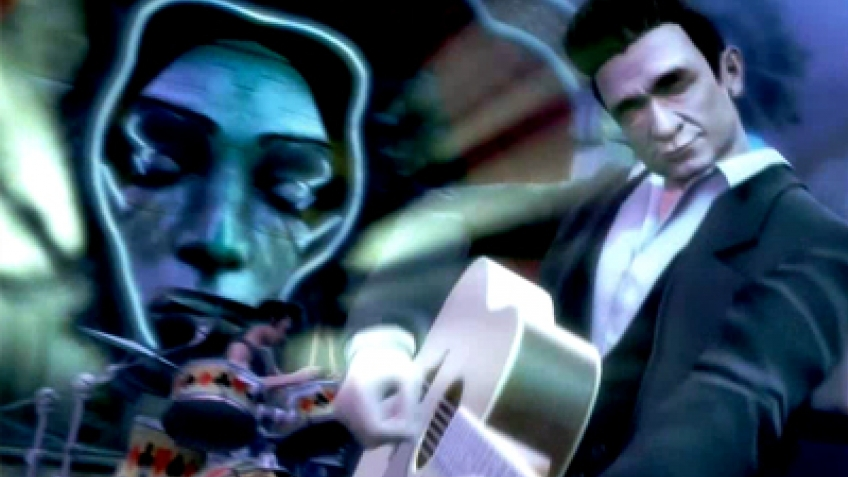 Guitar Hero5 - Johnny Cash Trailer