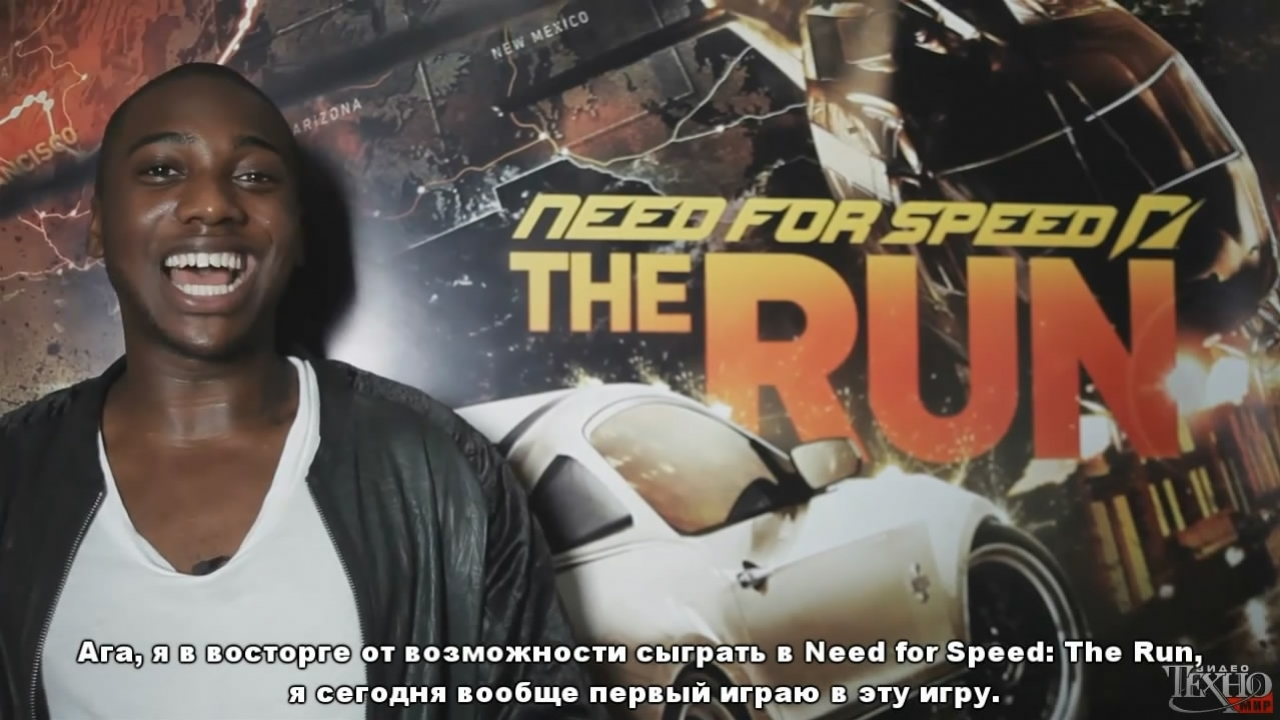 Need for Speed: The Run - Loick Essien Trailer (с русскими субтитрами)